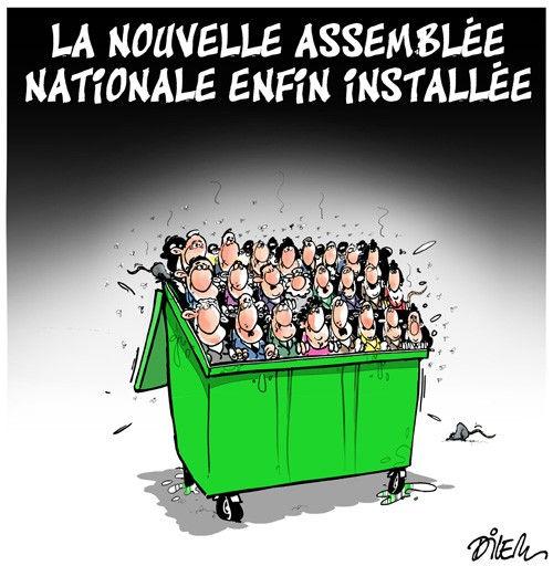 La nouvelle assemblée nationale installée