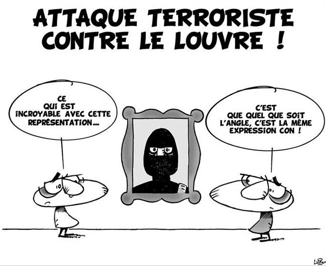 Attaque terroriste contre le Louvre