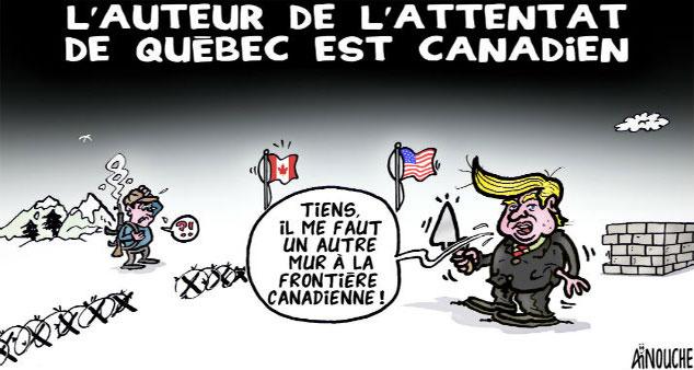 L'auteur de l'attentat de Québec est canadien