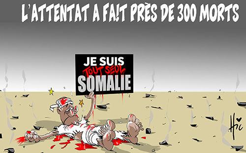 L'attentat a fait près de 300 morts
