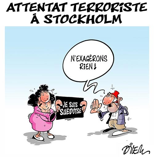 Attentat terroriste à Stockholm