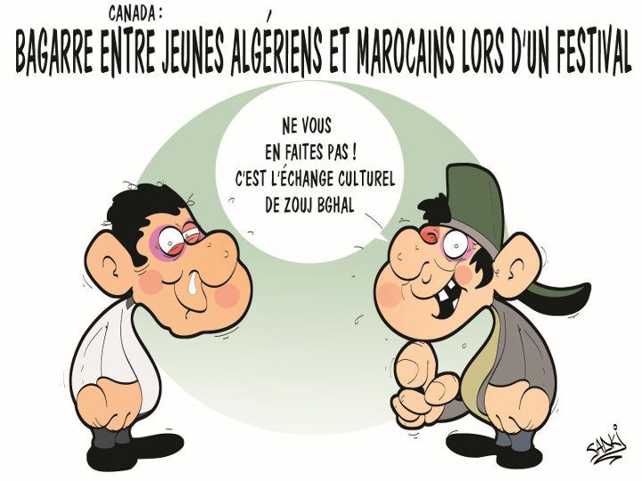 Canada: Baggare entre jeunes algériens et marocains lors d'un festival