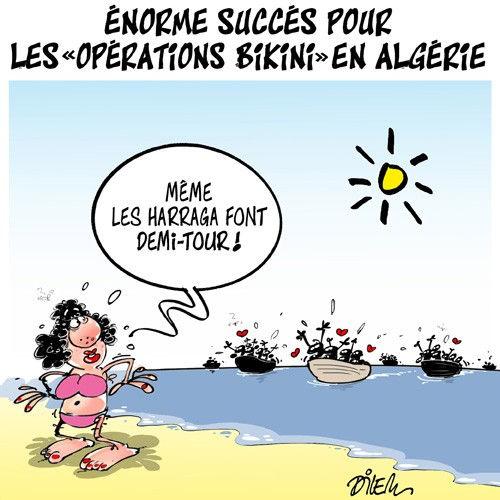 """Enorme succès pour les """"opéraions bikini"""" en Algérie"""