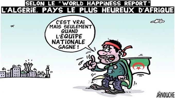 """Selon le """"World Happiness report"""": L'Algérie"""