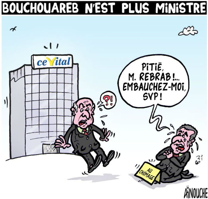 Bouchouareb n'est plus ministre