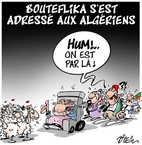 Bouteflika s'est adressé aux algériens
