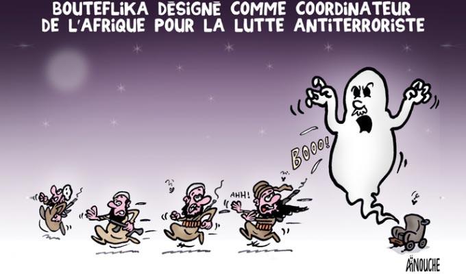 Bouteflika désigné comme coordinateur de l'Afrique pour le lutte antiterroriste