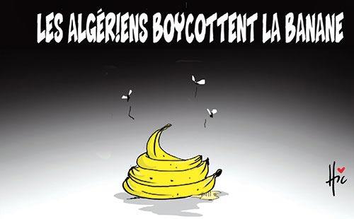 Les Algériens boycottent la banane