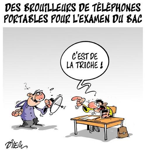 Des brouilleurs de téléphones portables pour l'examen du bac