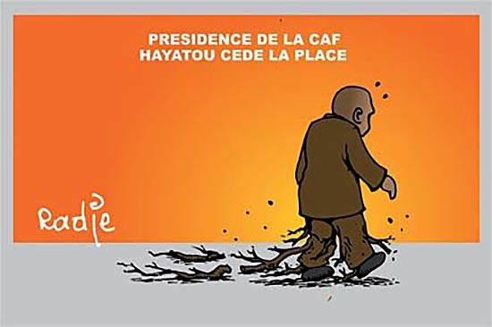 Présidence de la CAF: Hayatou cède la place