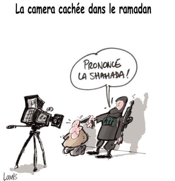 La caméra cachée dals le ramadan