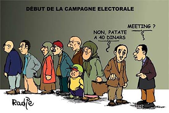 Début de la campagne électorale