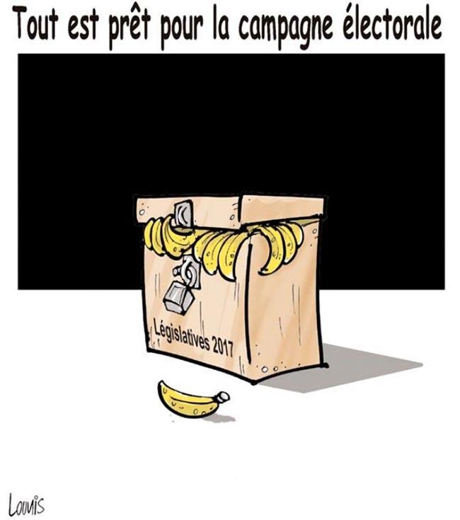 Tout est prêt pour la campagne électorale