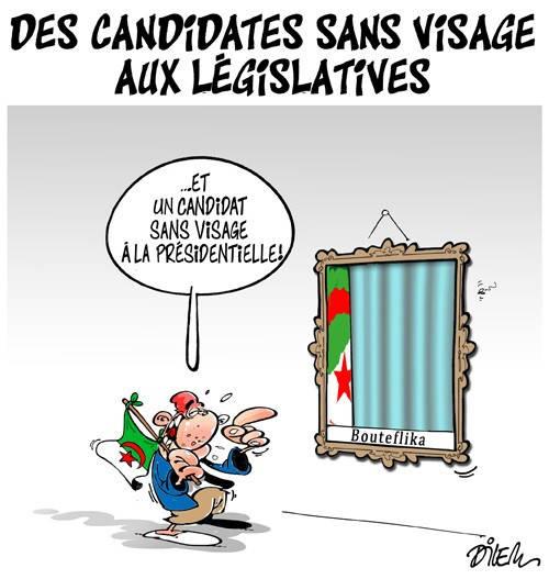Des candidates sans visage aux législatives