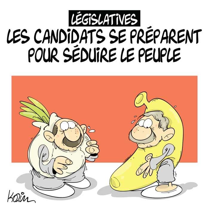Législatives: Les candidats se préparent pour séduire le peuple