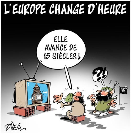 L'Europe change d'heure