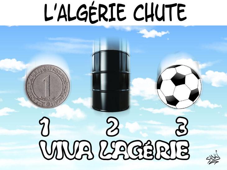 L'Algérie chute