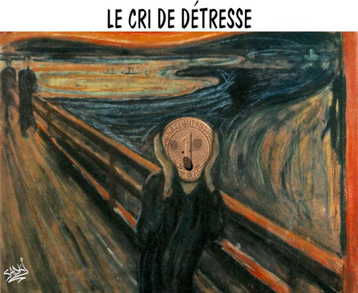 Le cri de détresse