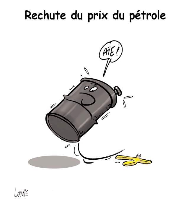 Rechute du prix du pétrole