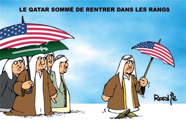 Le Qatar sommé de rentrer dans les rangs