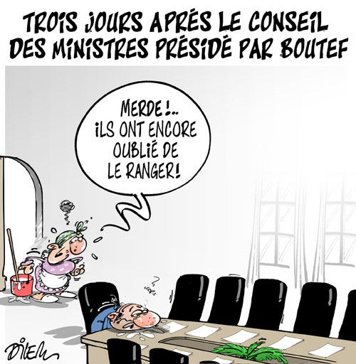Trois jours après le conseil des ministres présidé par Boutef