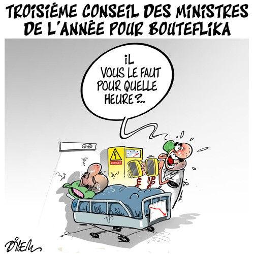 Troisième conseil des ministres de l'année pour Bouteflika