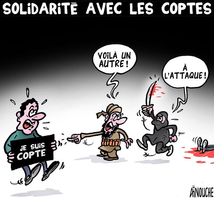 Solidarité avec les coptes