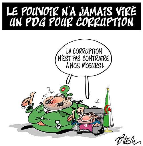 Le pouvoir n'a jamais viré un pdg pour corruption