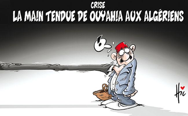 Crise: La main tendue de Ouyahia aux algériens