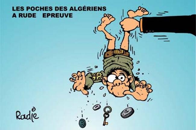 Les poches des algériens à rude épreuve