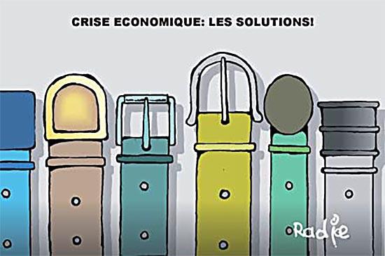 Crise économique: Les solutions