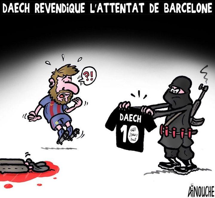 Daech revendique l'attentat de Barcelone