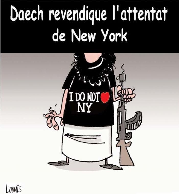 Daech revendique l'attentat de New York