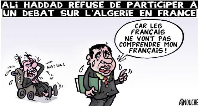 Ali Haddad refuse de participer à un débat sur l'Algérie en France