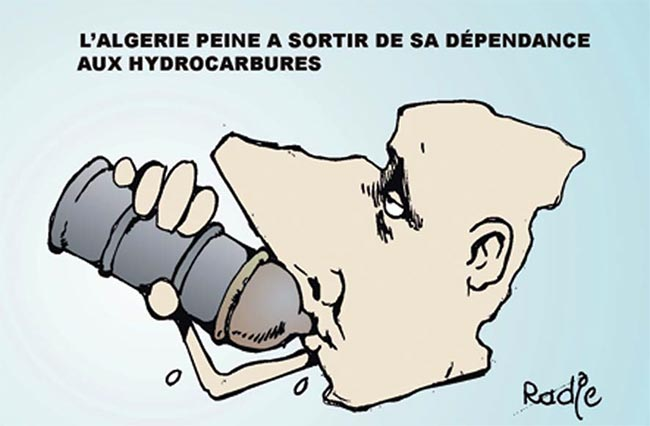 L'Algérie peine à sortir de sa dépendance aux hydrocarbures