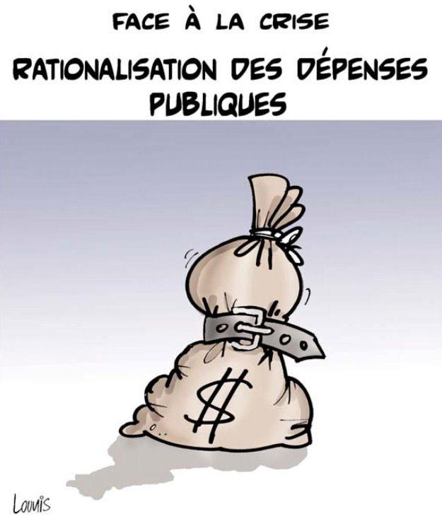 Face à la crise: Rationalisation des dépenses publiques