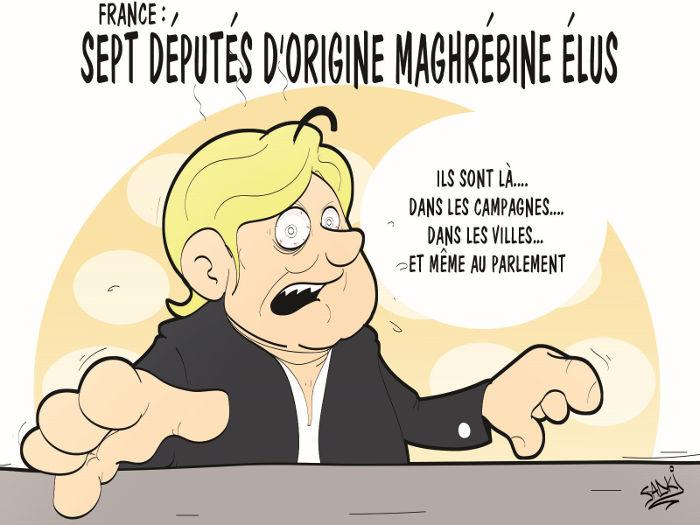 France: Sept députés d'origine maghrébine élus