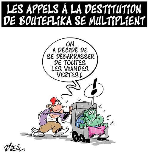 Les appels à la destitution de Bouteflika se multiplient