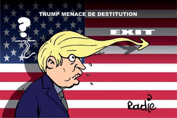 Trump menacé de déstitution