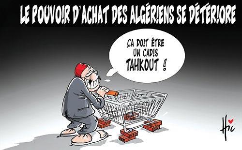 Le pouvoir d'achat des algériens se détériore