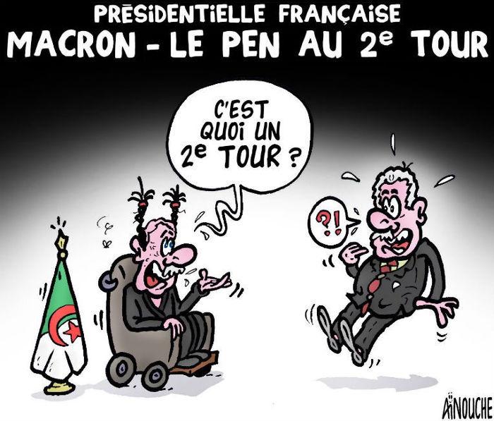 Présidentielle française: Macron - Le Pen au 2e tour
