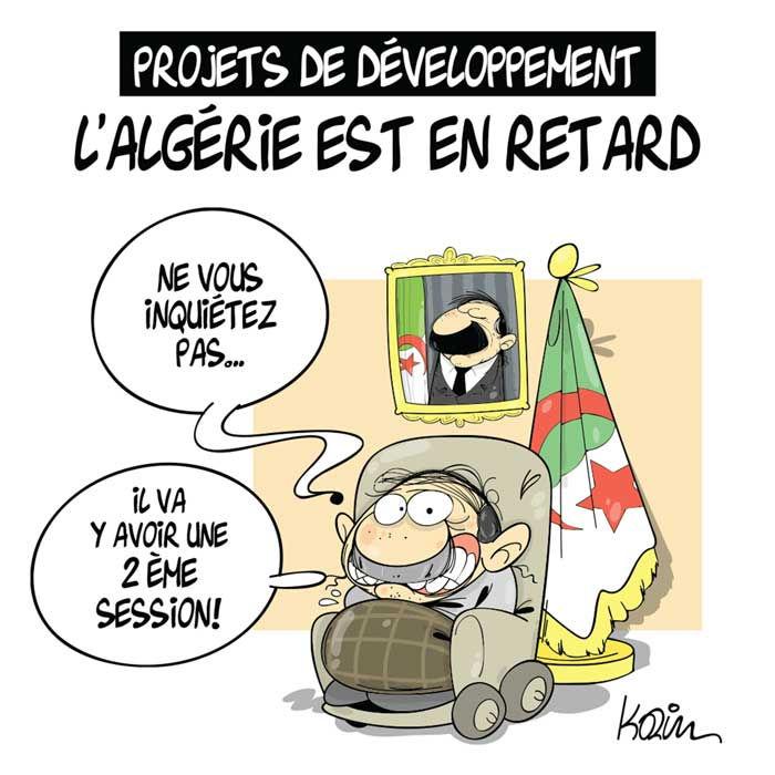 Projets de développement: L'Algérie est en retard