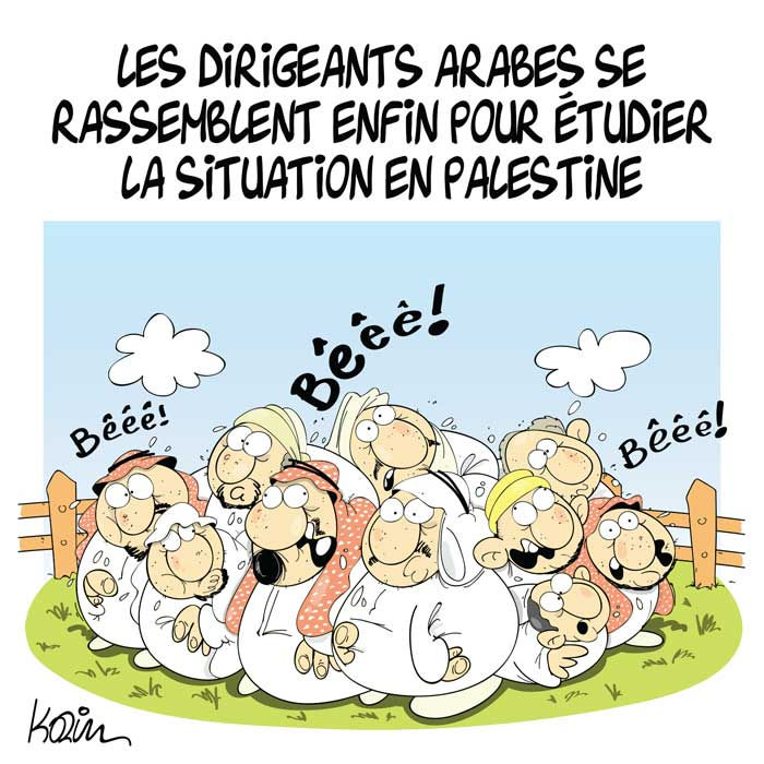 Les dirigeants arabes se rassemblent enfin pour étudier la situation en Palestine