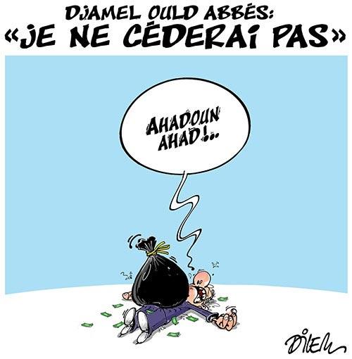 Djamel Ould Abbès: «Je ne céderai pas»