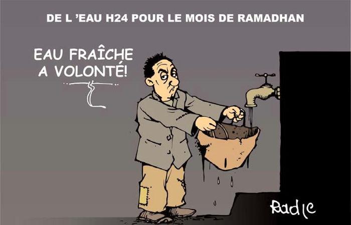 De l'eau h24 pour le mois de ramadhan