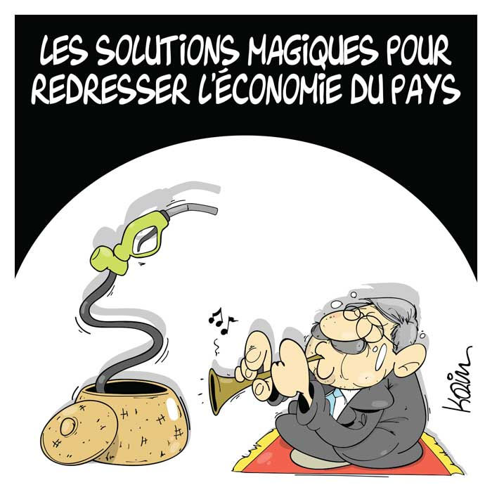 Les solutions magiques pour redresser l'économie du pays