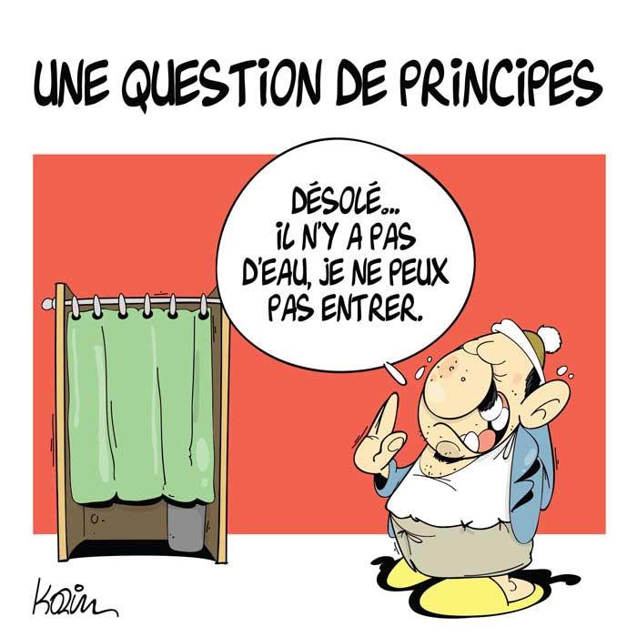 Une question de principes