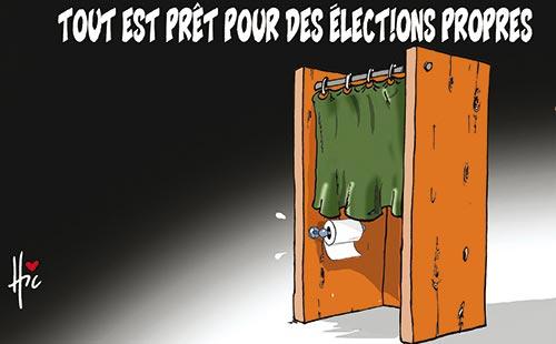 Tout est prêt pour des élections propres