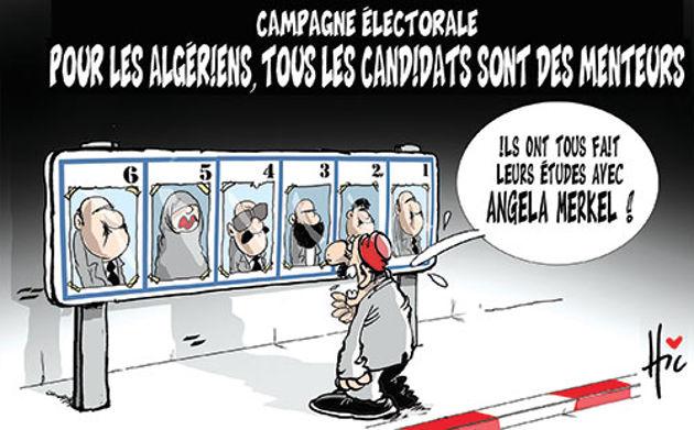 Campagne électorale: Pour les algériens