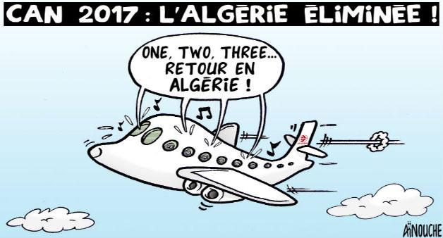 Can 2017: L'Algérie éliminée